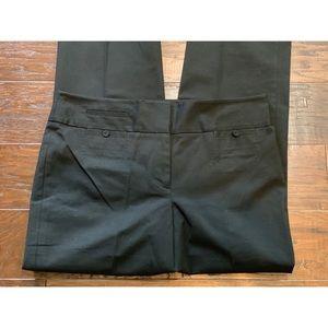 Ann Taylor Pants - Ann Taylor Black Stretch Cotton Margo Pant 8 NWT